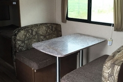 20' Travel Trailer Dinette
