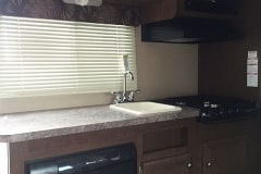 20' Travel Trailer Kitchen