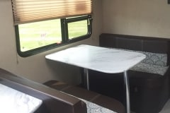 24' Travel Trailer Dinette
