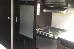 24' Travel Trailer Kitchen