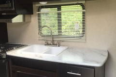 24' Travel Trailer Sink