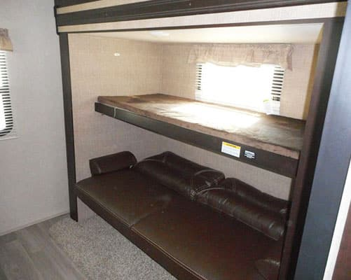 36' Travel Trailer Bunk Beds