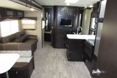 36' Travel Trailer Interior