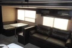 36' Travel Trailer Sofa