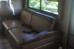 28' Class C Motorhome Sofa