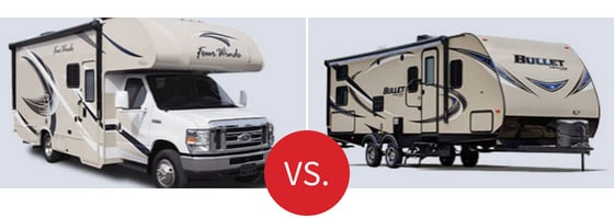 Rent a Motorhome or Travel Trailer in Indiana